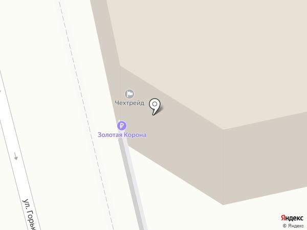 Чехтрейд на карте Екатеринбурга