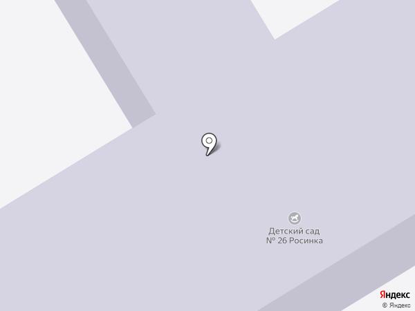 Детский сад №26 на карте Верхней Пышмы