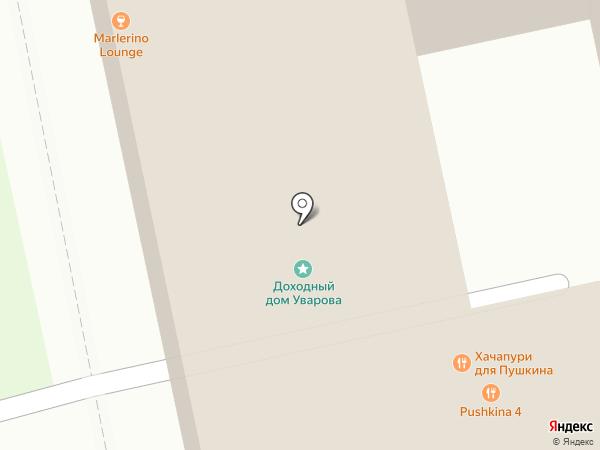 Порт на карте Екатеринбурга