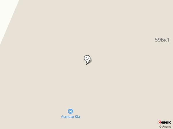 АСМОТО на карте Верхней Пышмы