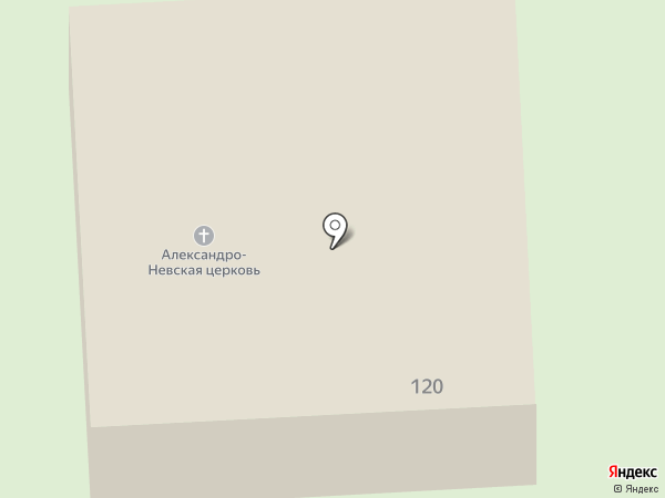 Храм во имя Святого благоверного князя Александра Невского на карте Верхней Пышмы