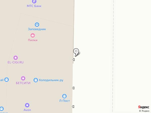 Reni на карте Екатеринбурга