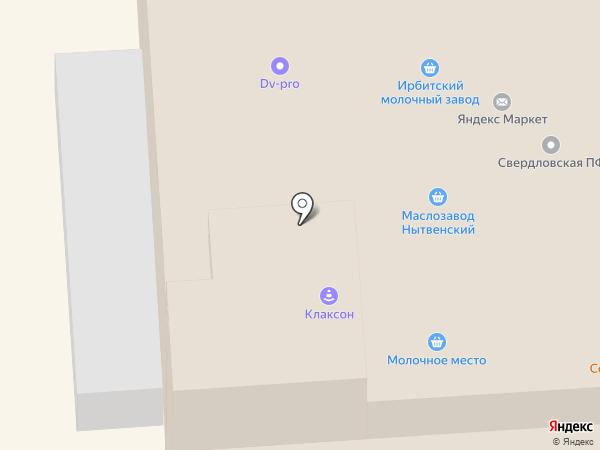 ToT66 на карте Екатеринбурга