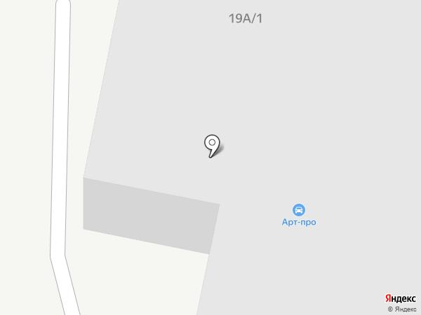 Автомост на карте Екатеринбурга