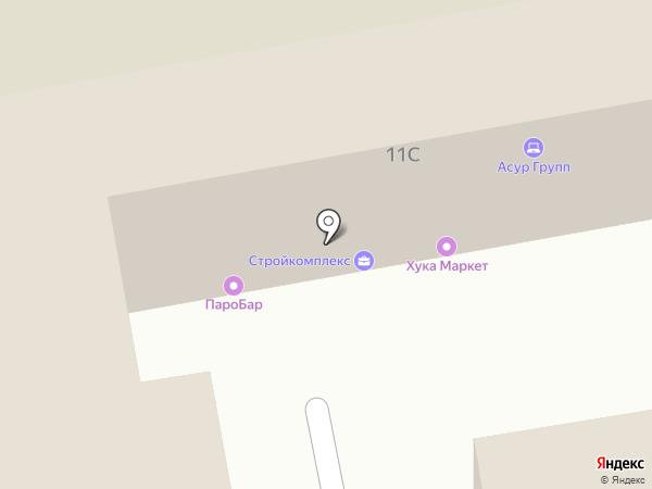 HookahPlace Market на карте Екатеринбурга