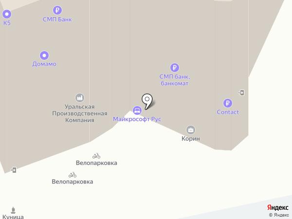 Банкомат, СМП банк на карте Екатеринбурга