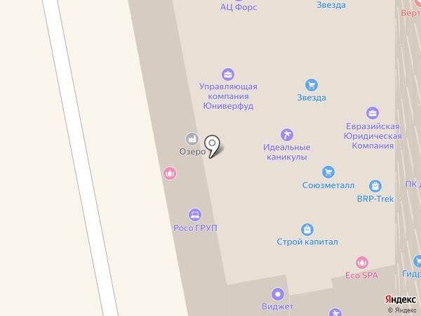 Территория на карте Екатеринбурга