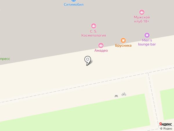 Амадео на карте Екатеринбурга