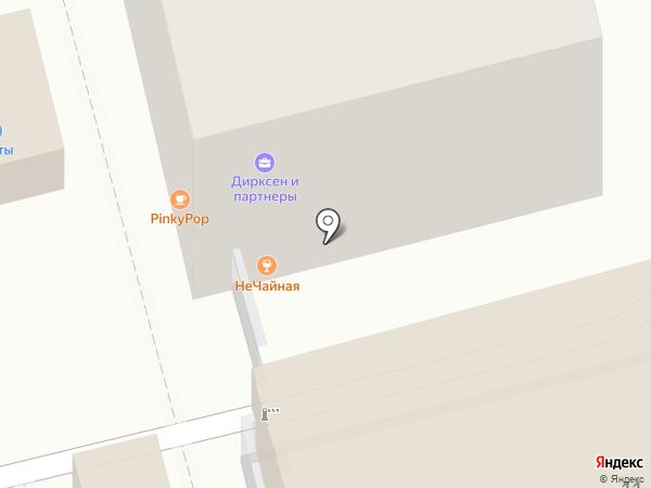 You на карте Екатеринбурга
