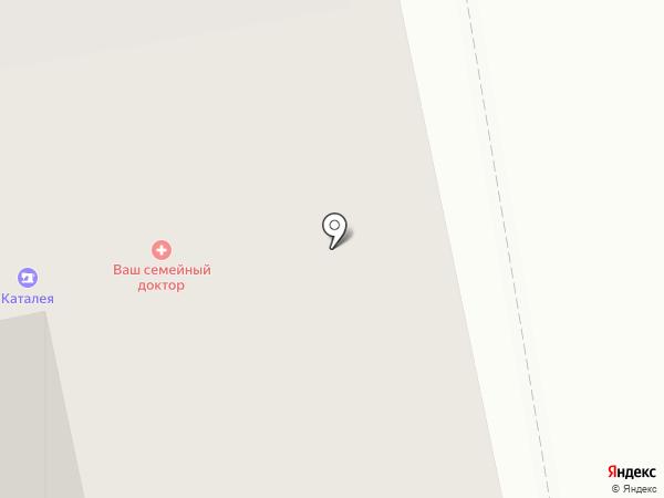 Fora на карте Екатеринбурга