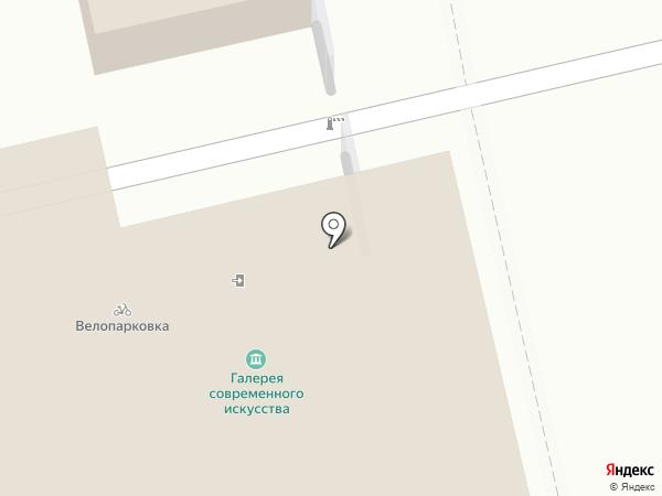 Палитра на карте Екатеринбурга