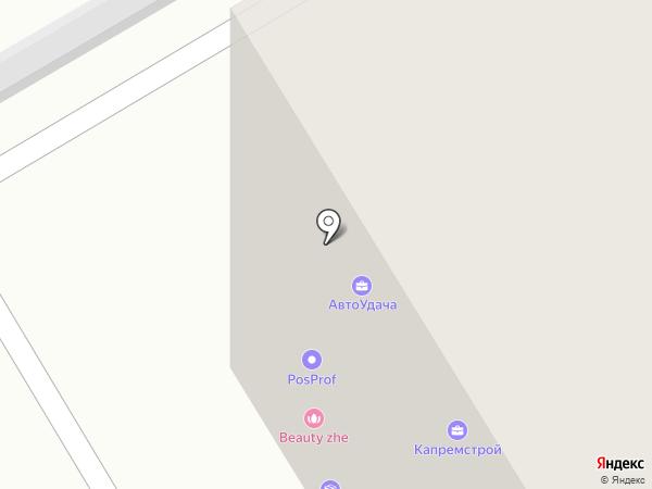 POSПРОФ на карте Екатеринбурга