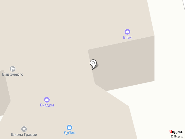 Авант на карте Екатеринбурга