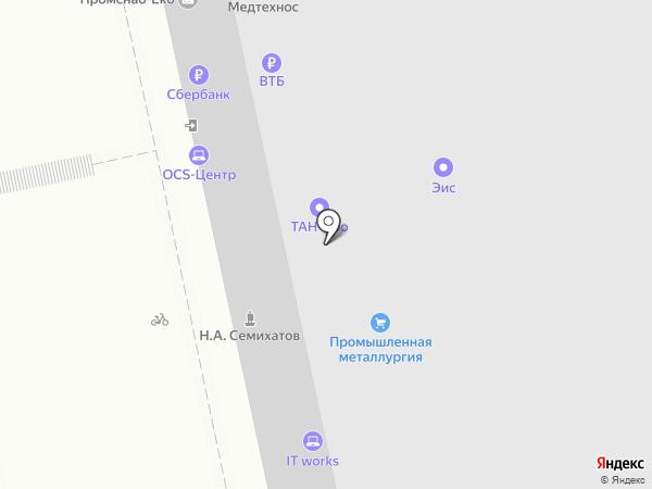 Банкомат, ВТБ Банк Москвы, ПАО Банк ВТБ на карте Екатеринбурга
