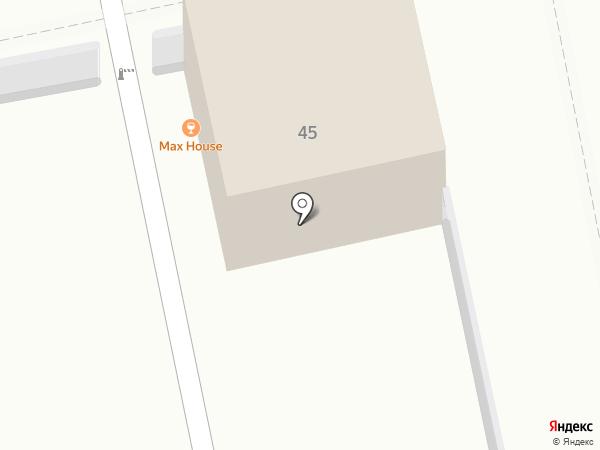 Max House на карте Екатеринбурга
