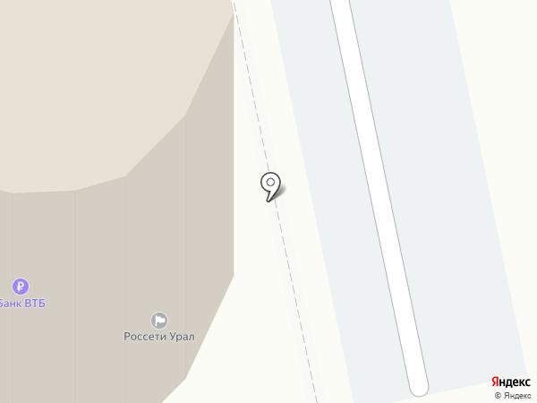 Банкомат, Газпромбанк на карте Екатеринбурга