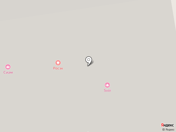 Йожики на карте Екатеринбурга