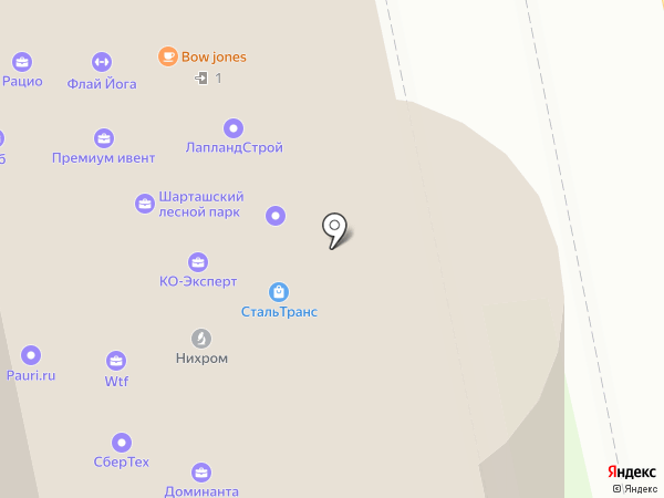Рост на карте Екатеринбурга