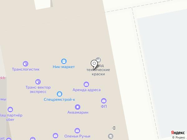 Парикмахерская на карте Екатеринбурга