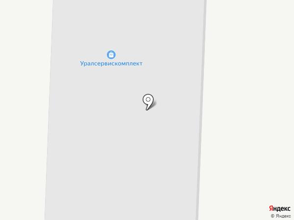 Савой на карте Екатеринбурга