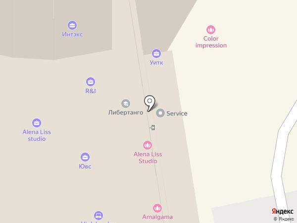 Инлайт-ЕК на карте Екатеринбурга