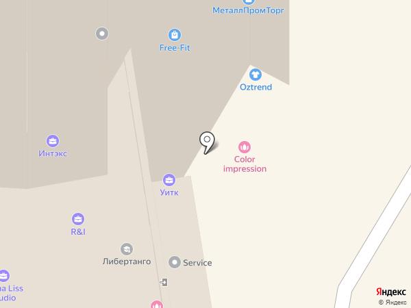 Фарибсо на карте Екатеринбурга