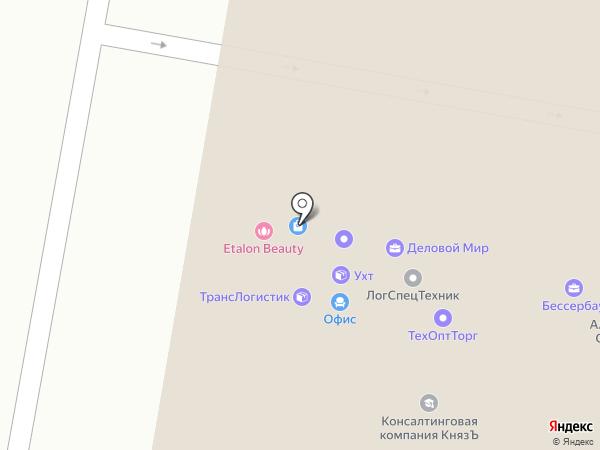 Флюгер на карте Екатеринбурга