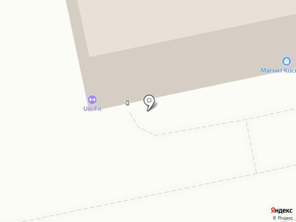 Uni Fit на карте Екатеринбурга
