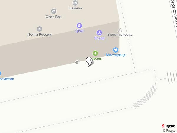 Магазин разливного пива на карте Екатеринбурга