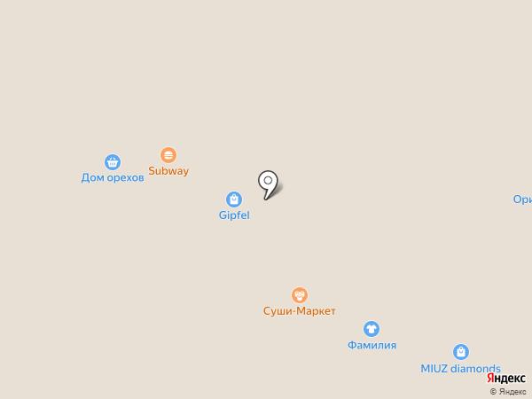 Кидспарк на карте Екатеринбурга