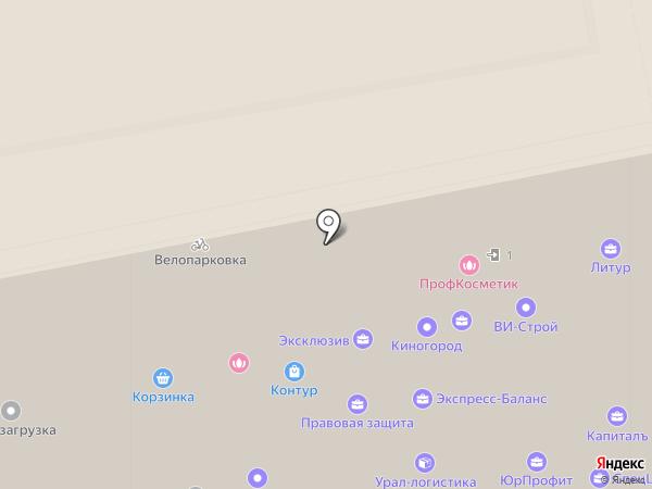 МПК СТАНДАРТ БИЗНЕСА на карте Екатеринбурга
