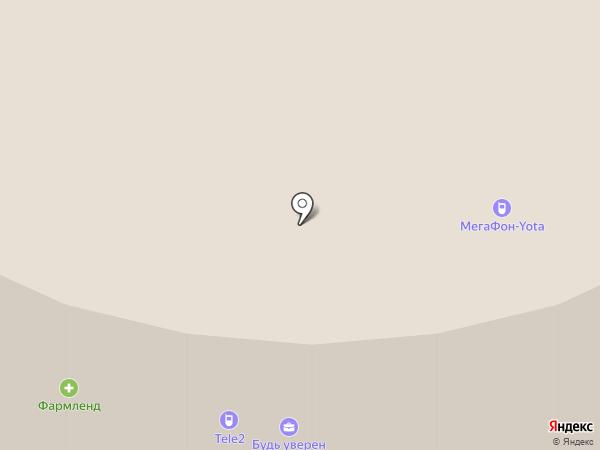Accent на карте Екатеринбурга