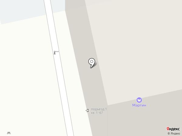 Тандем на карте Екатеринбурга