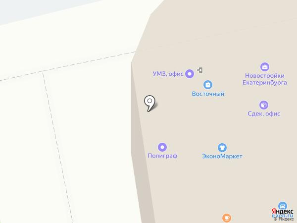 Мир профиля на карте Екатеринбурга