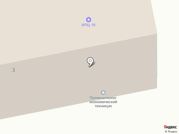 Уральский промышленно- экономический техникум на карте Екатеринбурга