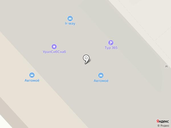 Адвокат Поздняков А.Ю. на карте Екатеринбурга