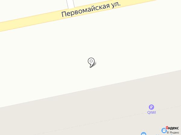 Ирбис на карте Екатеринбурга