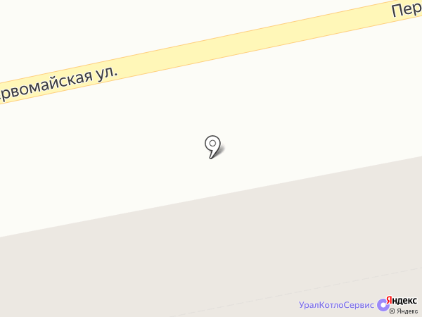 Лапин на карте Екатеринбурга