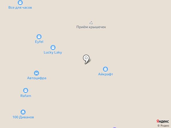 Чудо Кроватки на карте Екатеринбурга