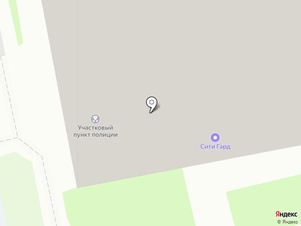 Сити Гард на карте Екатеринбурга