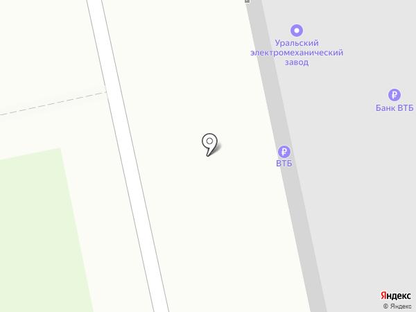 Банкомат, Банк ВТБ 24, ПАО на карте Екатеринбурга
