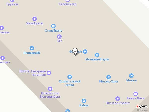 МеталлПром на карте Екатеринбурга