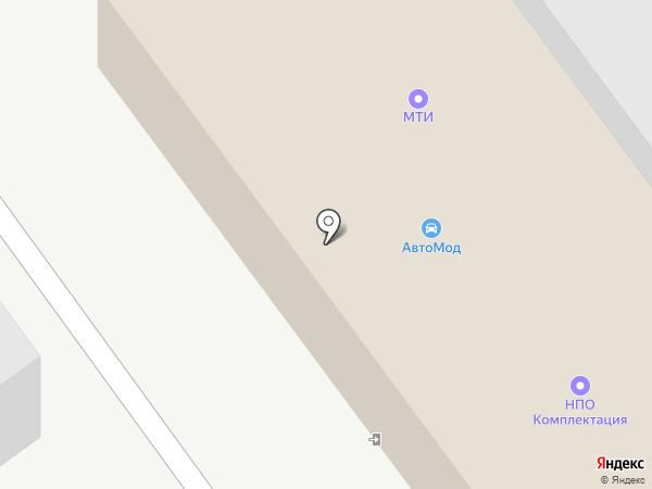 Avtomod на карте Екатеринбурга
