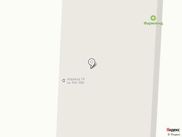 Гульден на карте Екатеринбурга
