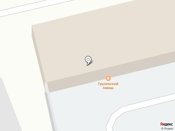 Кафе грузинской кухни на карте Екатеринбурга
