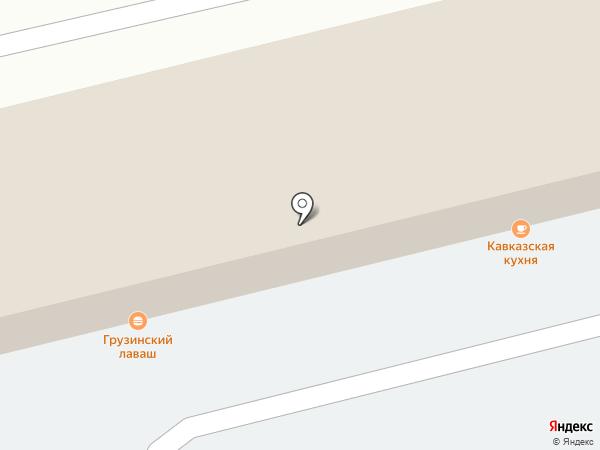 Кафе кавказской кухни на карте Екатеринбурга