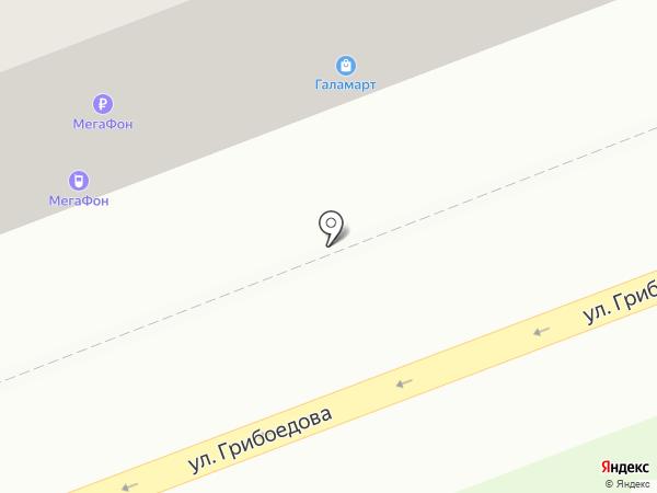 ГАЛАМАРТ на карте Екатеринбурга
