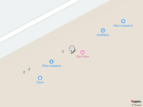 Звездный ДАР на карте Берёзовского