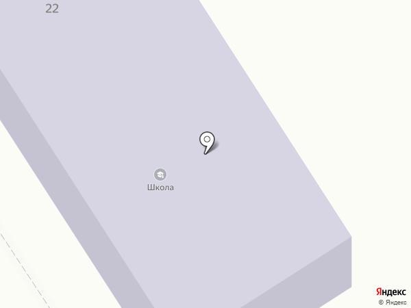 Березовская школа на карте Берёзовского