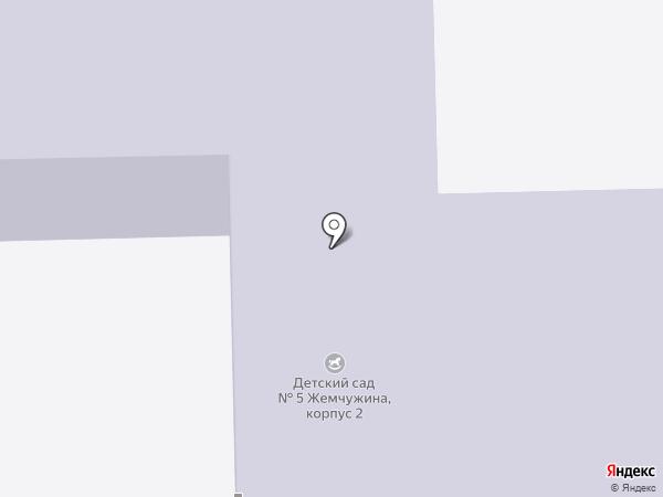 Детский сад №15 на карте Берёзовского